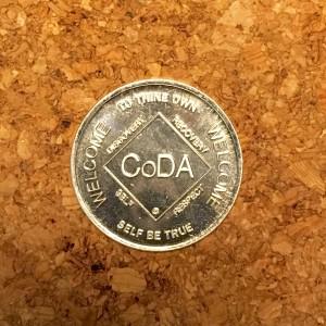 Front of CoDa token