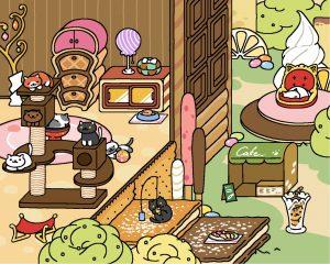 Neko Atsume update: Sugary Style Yard - Original