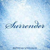 definition surrender