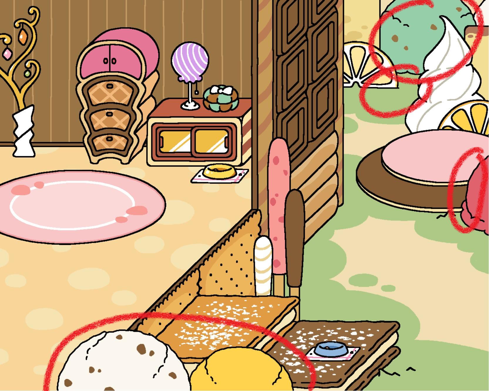 Neko Atsume update: Sugary Style Yard