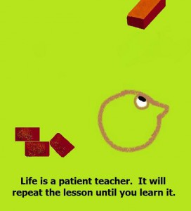 Life is a patient teacher - Monkeytraps