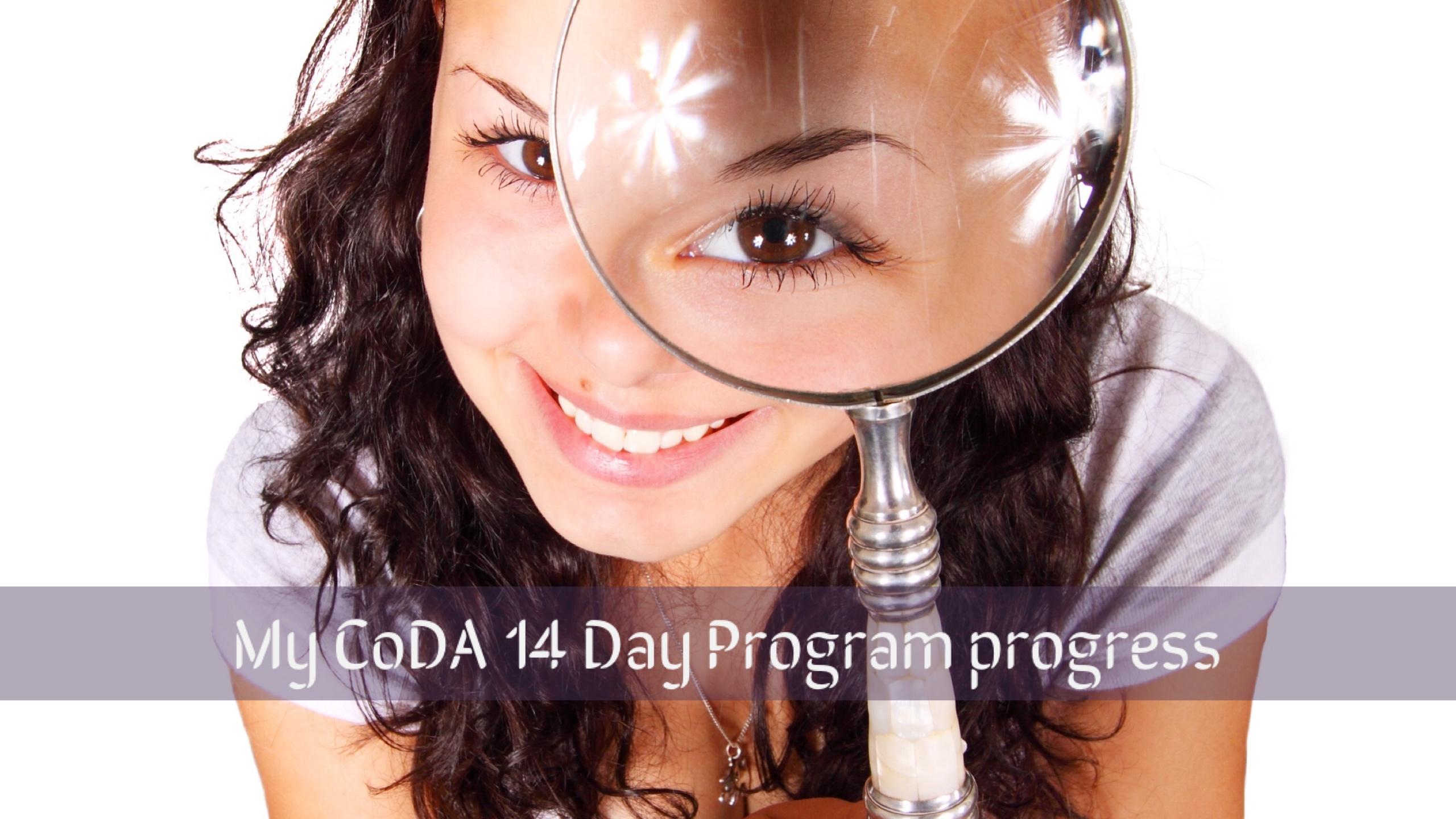 Coda 14 Day program progress