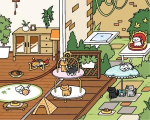 Neko Atsume update: Rustic Style Yard - Original