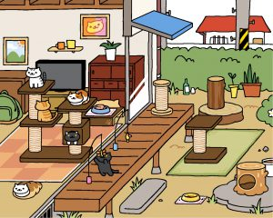 Neko Atsume update: Original Style Yard - Original