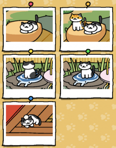 Neko Atsume update - Chip
