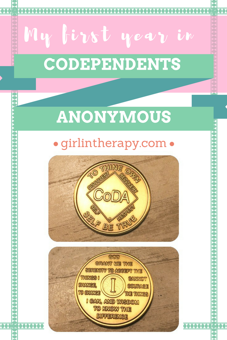 My first year in Codependents Anonymous 1