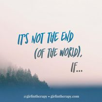 stop feeling hopeless - girlintherapy