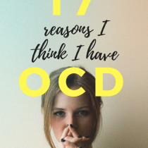 are symptoms OCD - Girl in Therapy